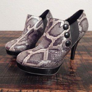 Kenneth Cole Unlisted Snakeskin heels